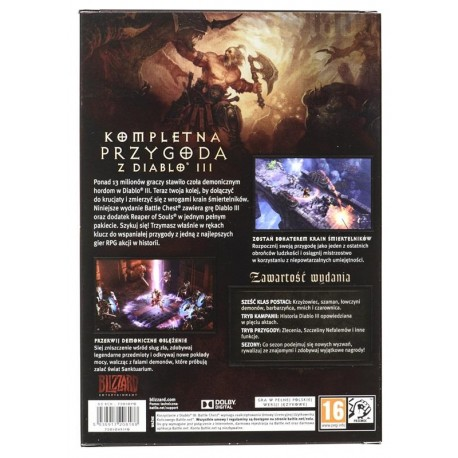 Gra PC Diablo 3 Battlechest PL.