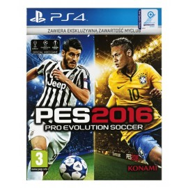 Gra PS4 Pro Evolution Soccer 2016 Day One