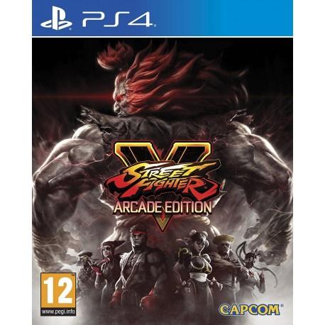 STREET FIGHTER V ARCADE EDITION PS4 PL