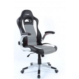 Fotel gamingowy IBOX GT2CZARNY/SZARY ( czarny )