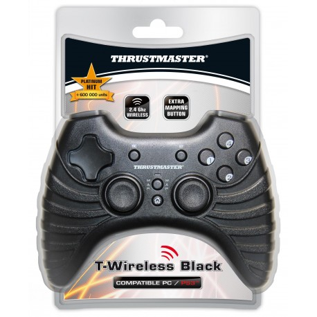 THRUSTMASTER GAMEPAD T-WIRELESS BLACK PC/PS3